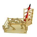 Rompecabezas Puzzles 3D Bloques de construcción Juguetes de bricolaje Juguetes Madera Modelismo y Construcción