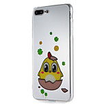 Περίπτωση για μήλο iphone7 7plus μαλακό μοτίβο κινουμένων σχεδίων tpu για 6s plus 6 plus 6s 6