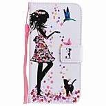 For Huawei P10 Plus P10 Lite Case Cover Card Holder Wallet with Stand Flip Pattern Full Body Case Sexy Lady Hard PU Leather P10 P8 lite 2017 P9 lite