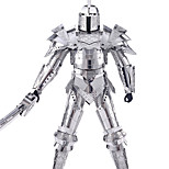 3D Puzzles Metal Puzzles For Gift  Building Blocks Warrior Stainless steel 14 Years & Up Toys