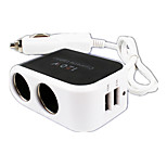 Cat Fast Charge Other 2 USB Ports Charger Only DC 5V/2.1A