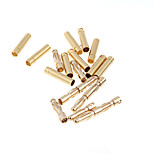 GoolRC 10 Pairs 4.0mm Copper Bullet Banana Plug Connectors Male  Female for RC Motor ESC Battery Part