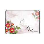 For MacBook Pro Air 11 13 15 Inch Laptop Cases Plastic Protective Shell Cartoon Flower Pattern Ornament Cover H2245