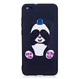 For Huawei P8 Lite(2017) P9 Lite  Case Cover Panda Pattern Painted Embossed Feel TPU Soft Case Phone Case P10 Lite P10 Y5 II  Honor 6X