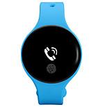 Heren Modieus horloge Digitaal Rubber Band Zwart Blauw