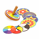 Spinning Top Toys Wooden EDC Office Desk Toys Stress and Anxiety Relief