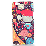 For OPPO R9s R9s Plus Case Cover Pattern Back Cover Case Eiffel Tower Food Hard PC R9 R9 Plus