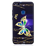 For Huawei P10 Lite P9 Lite Case Cover Butterfly Pattern Relief Back Cover Soft TPU P8 Lite 2017