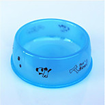 Cat Dog Bowls & Water Bottles Feeders Pet Bowls & Feeding Waterproof Portable Blue Orange