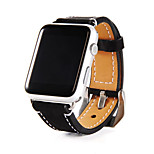 38/42MM Cowhide Genuine Leather Wrist Band Classic Buckle for Apple Watch Series 1/2 Sport Edition