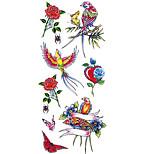 Временные тату Тату с животными С рисунком Нижняя часть спины WaterproofЖенский Мужской Подростки Вспышка татуировки Временные татуировки