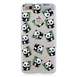 For Huawei P10 Lite P10 Case Cover Panda Pattern Painted High Penetration TPU Material IMD Process Soft Case Phone Case