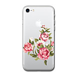 For iPhone 7 Plus 7Case Cover Pattern Back Cover Case Cartoon Flower Soft TPU for iPhone 6s Plus 6 Plus 6s 6 5s SE 5