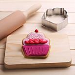 Cupcake Cookies Cutter Stainless Steel Biscuit Cake Mold Metal Kitchen Fondant Baking Tools
