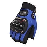 Спортивные перчатки Универсальные Перчатки для велосипедистов Велоперчатки Защитный Без пальцев Кожа Перчатки для велосипедистов
