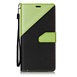 For LG V20  Stitching Double Color Leather Flip Case Cover For LG k10