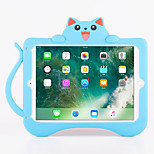 For Apple iPad Pro 9.7''  iPad Air 2 Shockproof with Stand Pattern Back Cover Case Cat 3D Cartoon Soft Silicone