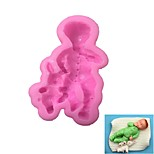 Little Boy Pattern  Candy Fondant Cake Molds  For The Kitchen Baking Molds