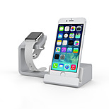 REFLYING Watch Stand for Apple Watch Series 1 2 Ipad iPhone 6Plus 6 5 5s 5c 4s 4  All-In-1 Plastic 38mm / 42mm