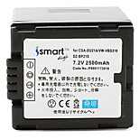 Ismartdigi DU21 7.2V 2500mAh Camera Battery for Panasonic NV-GS500 GS28 GS188 GS180 GS300GK