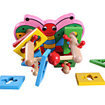 Building Blocks For Gift  Building Blocks Leisure Hobby Butterfly Wood 2 to 4 Years Toys