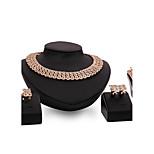 Damskie Zestawy biżuterii Rhinestone Modny Postarzane Osobiste euroamerykańskiej Wyrazista biżuteria Kryształ górski Stop Biżuteria Na