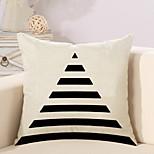 1 Pcs Simple Trangle Strips Printing Pillow Case Classic Pillow Cover Home Decor Cushion Cover
