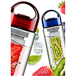 Fruit Infusing Infuser Shaker Water Bottle Cup Lemon Strawberry Juice Leak-Proof Tumbler Bottle Cup 700ML