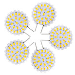 YWXLigh 5Pcs G8 2835SMD 27LED 1.5W 100-150Lm Warm White Cool White Chandelier Decorative Light LED Bi-Pin Lights AC 110-140V