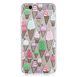 For Huawei P10 Lite P10 Case Cover Ice Cream Pattern Painted High Penetration TPU Material IMD Process Soft Case Phone Case