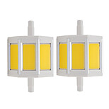 4W Spot LED Tube 3 COB 360 lm Blanc Chaud Blanc Froid V