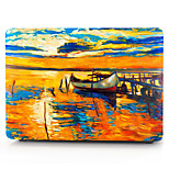 For MacBook Pro 13 15 Air 11 13 Case Cover Polycarbonate Material Oil Painting