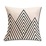 1 Pcs Geometry Triangle Stripe Pillow Cover Classic Sofa Cushion Cover Home Decor 45*45Cm Pillow Case