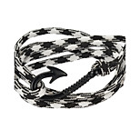 Men's Wrap Bracelet Jewelry Natural Fashion Leather Alloy Irregular Jewelry For Special Occasion Gift Sports