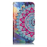 For Huawei P10 Lite P8 Lite2017 Case Cover Card Holder Wallet Embossed Pattern Full Body Case Mandala Hard PU Leather for P10 Plus P10 P9 Lite P8 Lit