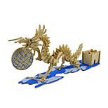 Jigsaw Puzzles 3D Puzzles Building Blocks DIY Toys Dragon Wood Model & Building Toy