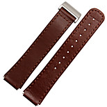 For  Huawei B2  MSTRE Watch Band Strap Solid color Leather Sport Band
