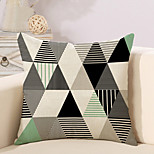 1 Pcs Creative Triangle Stripe Geometry Pattern Pillow Cover Personality Pillow Case Cotton/Linen Cushion Cover