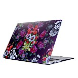 For MacBook Air Pro 11.6 13.3 15.4 inch Retain Case Cover Cartoon Drawing Painting Decorate Protector for New MacBook Pro Flower