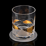 Round Stainless Steel Coasters Cup Mat Heat Resistant Table Wine Bar Tools 1Pcs