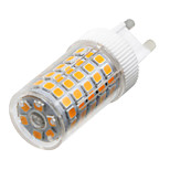 YWXLight® Dimmable G9 10W 86LED 2835SMD 850-950 Lm Warm White/Cool White/Natural White LED Ceramics Lamp AC 220-240V 1PCS