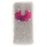 For LG K10 K7 Case Cover Flower Pattern HD Painted Drill TPU Material IMD Process High Penetration Phone Case K8