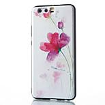 For Huawei Mate 8 Mate 9 Pro Case Cover Flower Pattern Relief TPU Material Phone Case P10 P9 P8 Lite 2017 6X NOVA V9