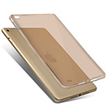 For Apple iPad Mini 4 Case Cover Transparent Back Cover Case Solid Color Soft TPU