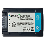Ismartdigi FV50 7.2V 1030mAh Camera Battery for Sony PJ610 PJ675 CX450 AXP55 pj820e AX40