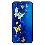 For Huawei P8 Lite(2017) P9 Lite  Case Cover Butterfly Pattern Painted Embossed Feel TPU Soft Case Phone Case P10 Lite P10 Y5 II  Honor 6X