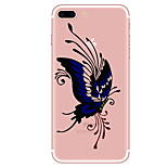 Case For  iPhone 7 7 Plus Butterfly Pattern TPU Soft Back Cover  For iPhone 6 Plus 6s Plus iPhone 5 SE 5s 5C 4s
