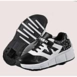 Niños Adulto Zapatillas de patinaje Transpirable Cómodo Protector Negro/Rosa