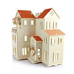 Rompecabezas Puzzles 3D Bloques de construcción Juguetes de bricolaje Arquitectura Madera Modelismo y Construcción