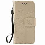 Pour Apple iPod touch 5 touch 6 sacoche porte-carte porte-monnaie avec support flip en relief motif plein corps carré hard pu cuir